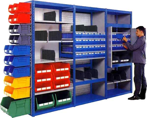 Linspace shelving systems from Storage Solutions